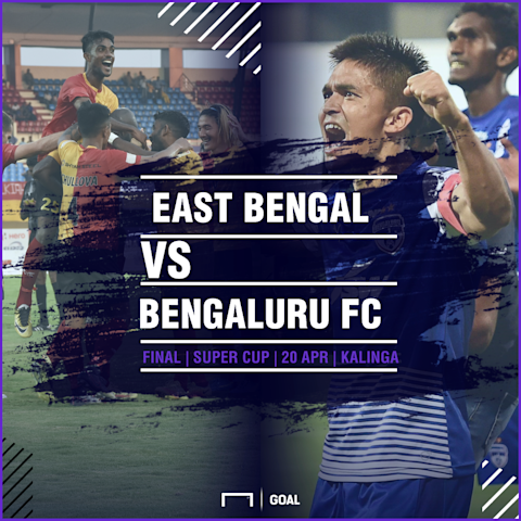 GFX East Bengal Bengaluru FC 2018 Super Cup final