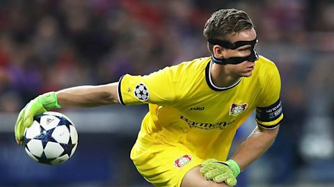 ATLETICO MADRID BAYER LEVERKUSEN BERND LENO CHAMPIONS LEAGUE 15032016