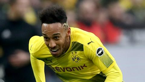 Aubameyang back in Dortmund team, transfer still possible