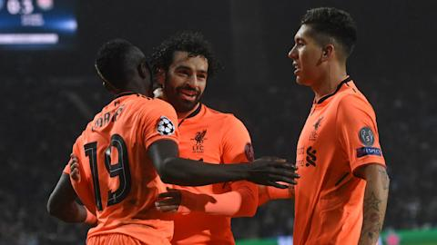 Liverpool's Salah scores for seventh game in a row