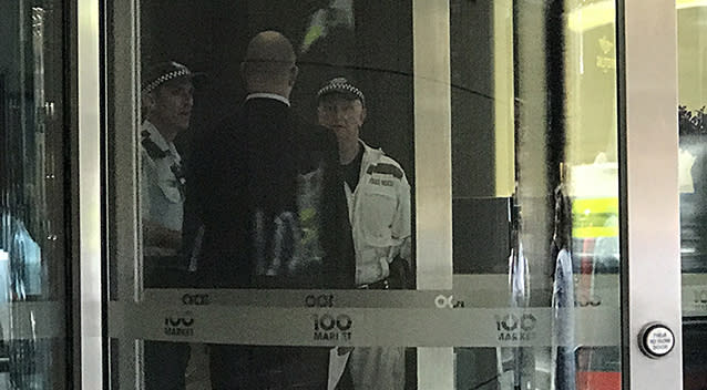 Sydney street shut down, witnesses treated after man jumps from Sydney Tower