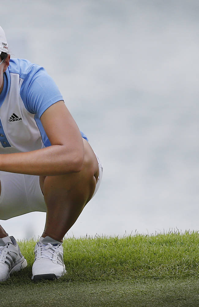 Ciganda fires 66 to grab share of lead at HSBC Champions