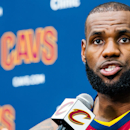 LeBron lays lumber to Trump at Cavs media day (Yahoo Sports)