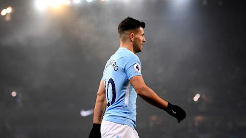 Sergio Aguero Manchester City