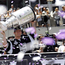 The Kings want to host another Stanley Cup parade, and they're confident they can pull it off. (AP)
