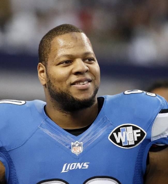 No franchise tag for Detroit's Suh as deadline passes