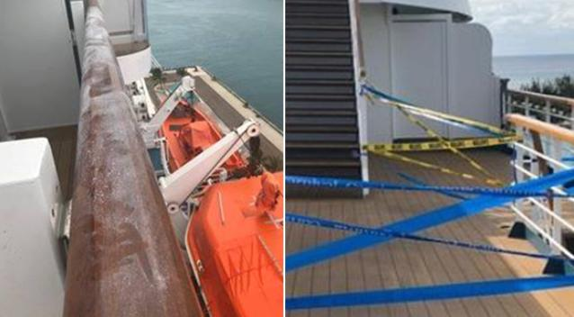 'Blood everywhere': Woman dies after falling from cruise balcony