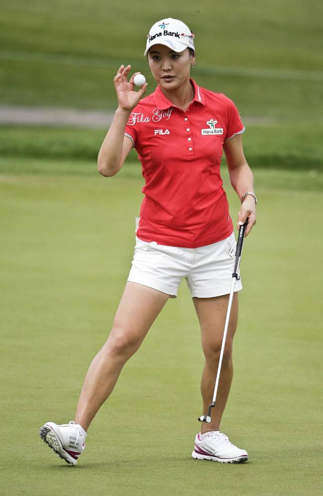 Ryu takes early lead in LPGA LOTTE tournament