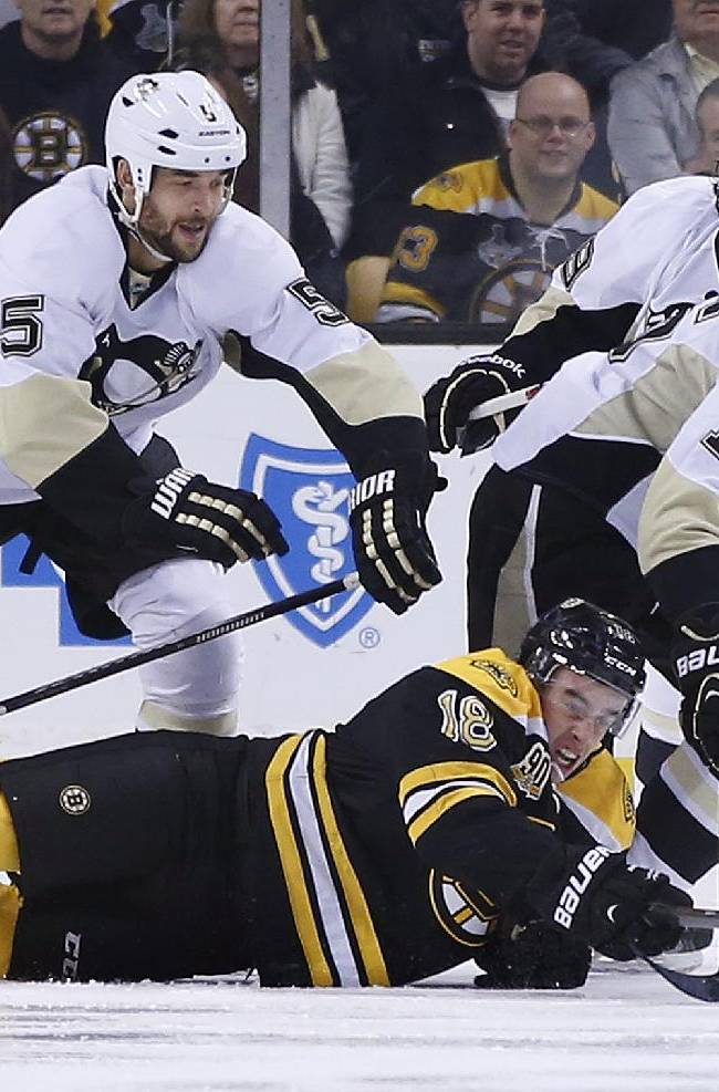 Bruins snap skid against Pens with 4-3 OT win