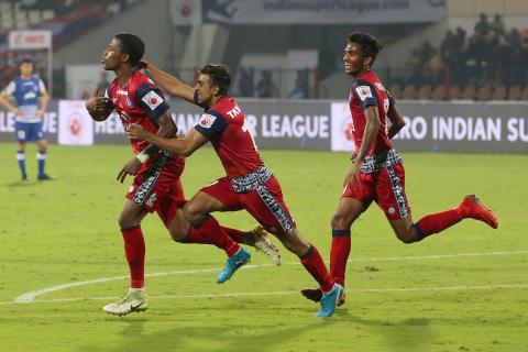 ISL 2017: Jamshedpur register last-minute win over Bengaluru