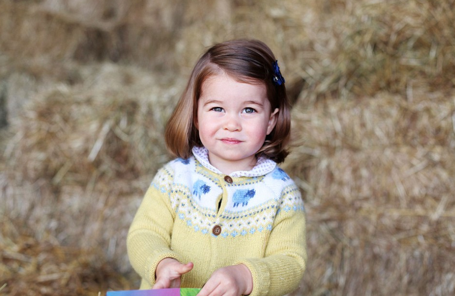 British royal family publishes a new photo of Princess Charlotte