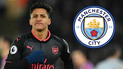 Guardiola predicts Sanchez will stay at Arsenal in January