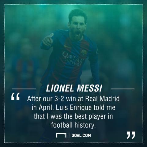 Lionel Messi Luis Enrique