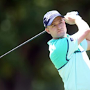 Jun 30, 2016; Akron, OH, USA;  Russell Knox of Scotland hits a tee shot on the third hole at Firestone Country Club - South Course. Mandatory Credit: Charles LeClaire-USA TODAY Sports