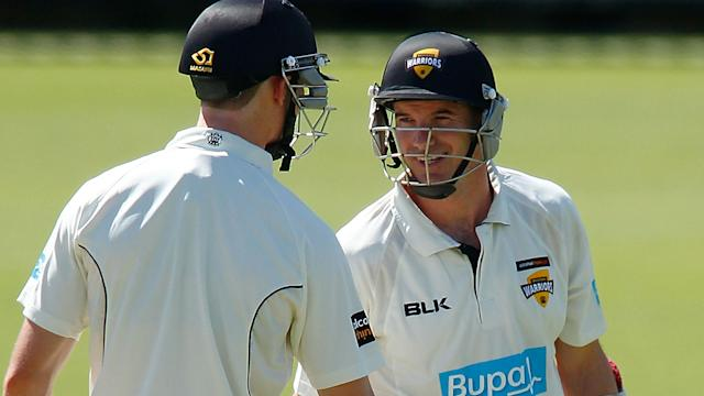 Bancroft and Klinger playing for Western Australia. Image Getty