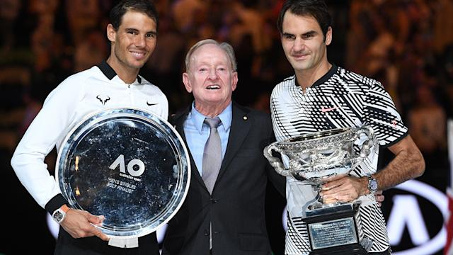 Federer was too good for Nadal in the final. Image Getty