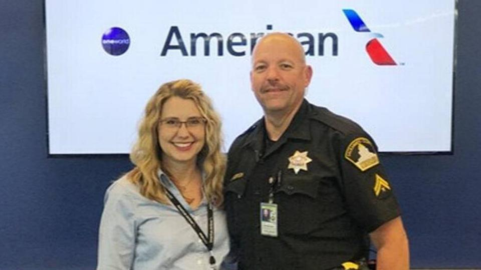 American Airlines agent saves 2 girls from alleged human trafficking suspect