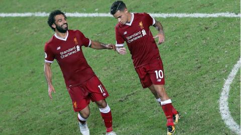 HD Phil Coutinho Mohamed Salah