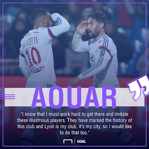 Fekir has sights trained on Gunners