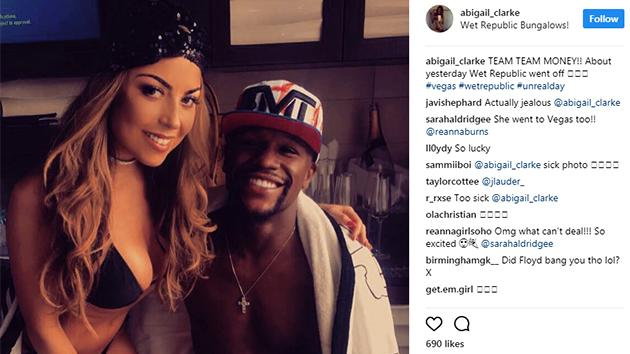 Image result for Abigail clarke with Floyd