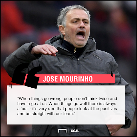 Jose Mourinho always a but with Manchester United