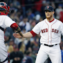 Bad call helps Red Sox tie strikeout record (Yahoo Sports)