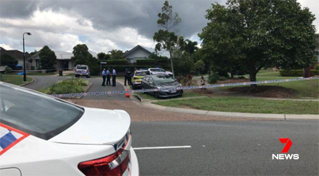 A man has been shot by police in Brisbane suburb of Wakerley