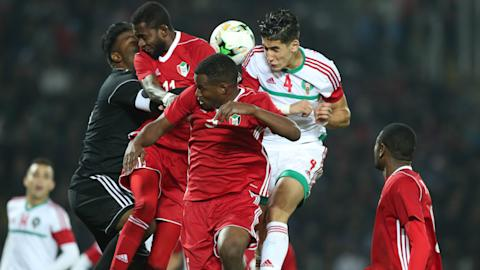 Morocco beats Namibia securing a place in the semi-finals