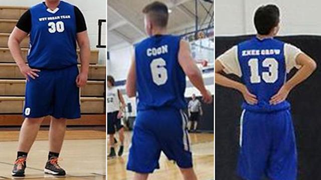 Basketball jerseys get OH youth team booted from recreational league