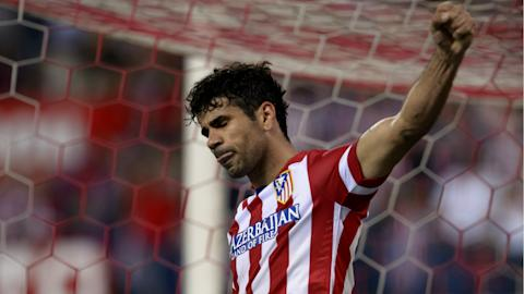 Striker Costa 'returns home' to Atletico Madrid