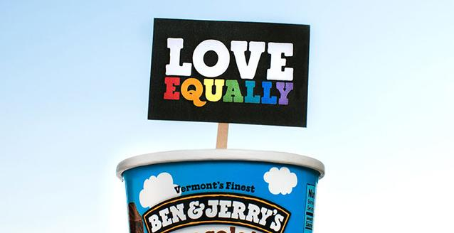 Ben & Jerry's takes a stand against Aussie marriage laws