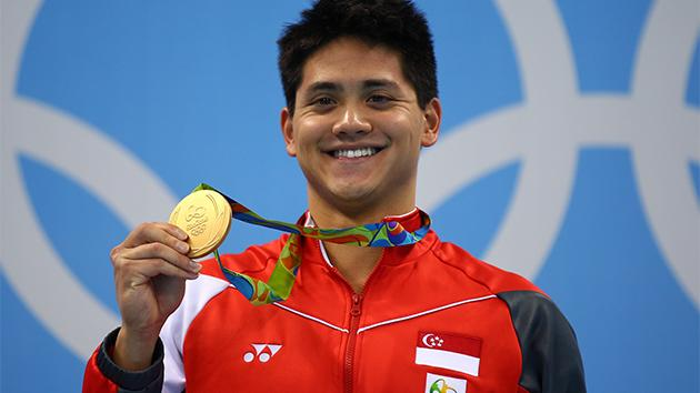 Singaporean swimmer Joseph Schooling beats Michael Phelps, clinches first Olympic gold
