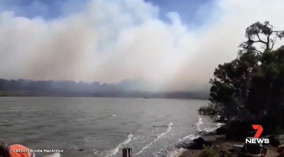 Emergency warning in place for WA's south