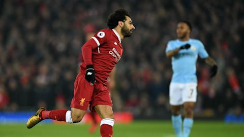 Mohamed Salah Liverpool Manchester City