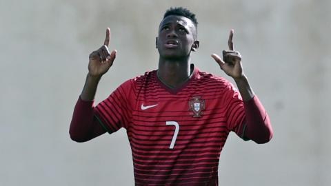 Umaro Embalo Portugal U17