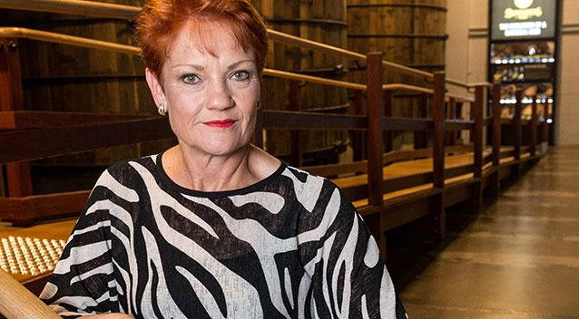 Pauline Hanson visits her old fish and chip shop