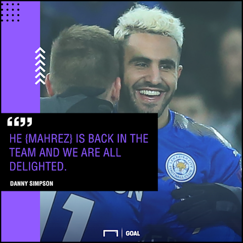 Leicester City manager Claude Puel welcomes Riyad Mahrez back after 'mistake'