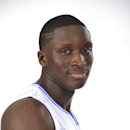 ORLANDO, FL - SEPTEMBER 29: Victor Oladipo #5 of the Orlando Magic poses for a portrait at Orlando Magic Media Day on September 29, 2014 at Amway Center in Orlando, Florida. (Photo by Fernando Medina/NBAE via Getty Images)