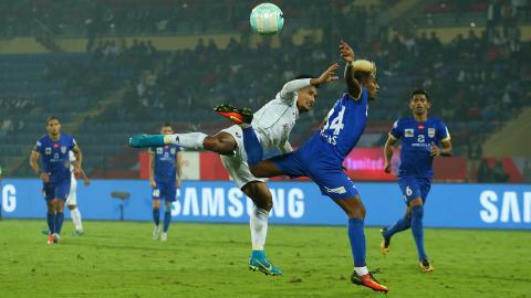 NorthEast United FC Mumbai City FC ISL 4 2017/2018