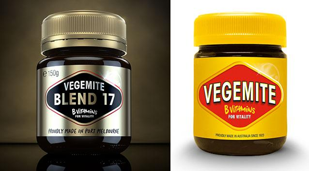 Vegemite just launched a completely new look and it's very fancy