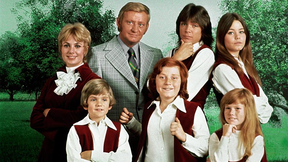 David Cassidy during his time staring in the Partridge Family