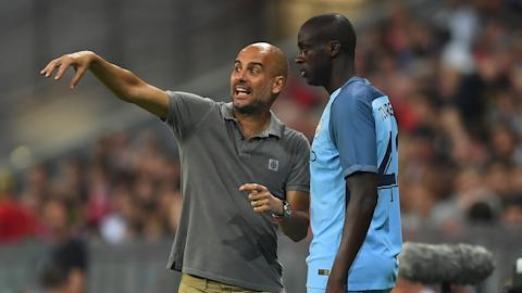 Pep leaves out Toure for 'sporting reasons'""