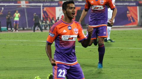 Ashique Kuruniyan FC Pune City NorthEast United FC I-League 2017/2018