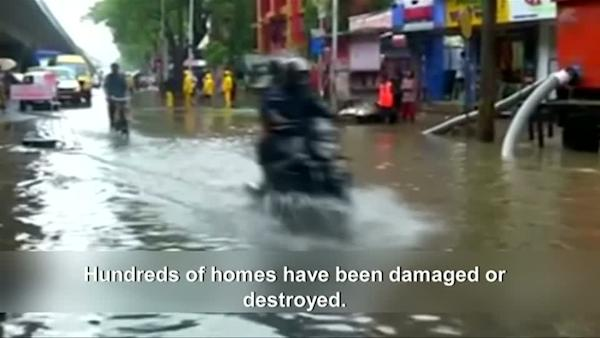 Early monsoon brings heavy flooding to India