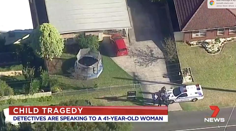Boy dead, woman arrested near Melbourne