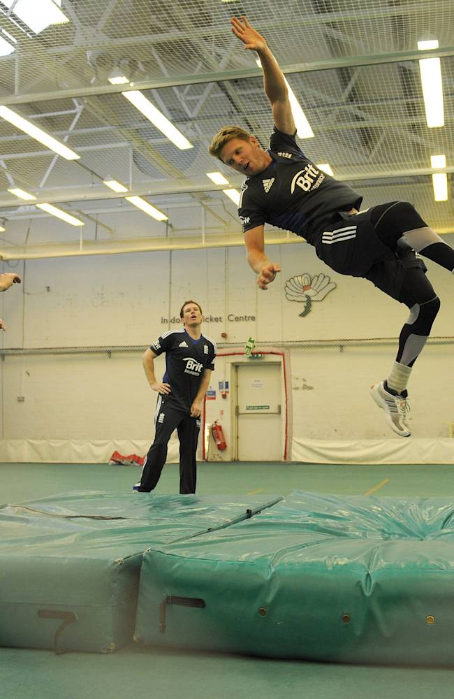 England And West Indies Nets Session