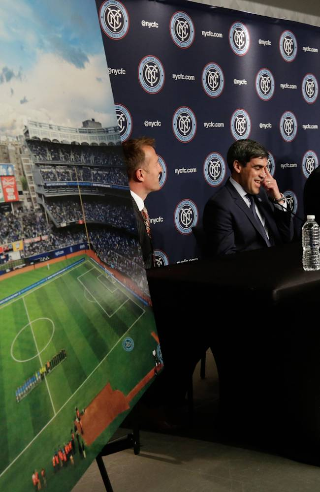 NYCFC to play 2015 home games at Yankee Stadium