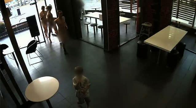 Investigating police release offensive behaviour CCTV stills in Newcastle