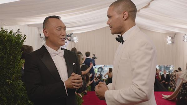The Daily Show's New Host Trevor Noah Scores Another First At The Met Gala