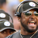 Steelers will refuse to take field for national anthem. (AP)